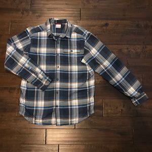 Columbia flannel button down